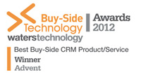 Advent Software Receives Top Honor from Buy-Side Technology