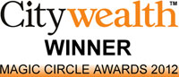 Citywealth Magic Circle Awards 2012