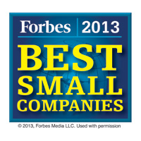 Forbes 2013 America's Best Small Companies