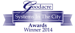 Goodacre's Systems in the City Awards 2014