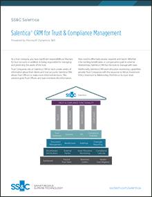 Salentica<sup>®</sup> CRM for Trust & Compliance Management