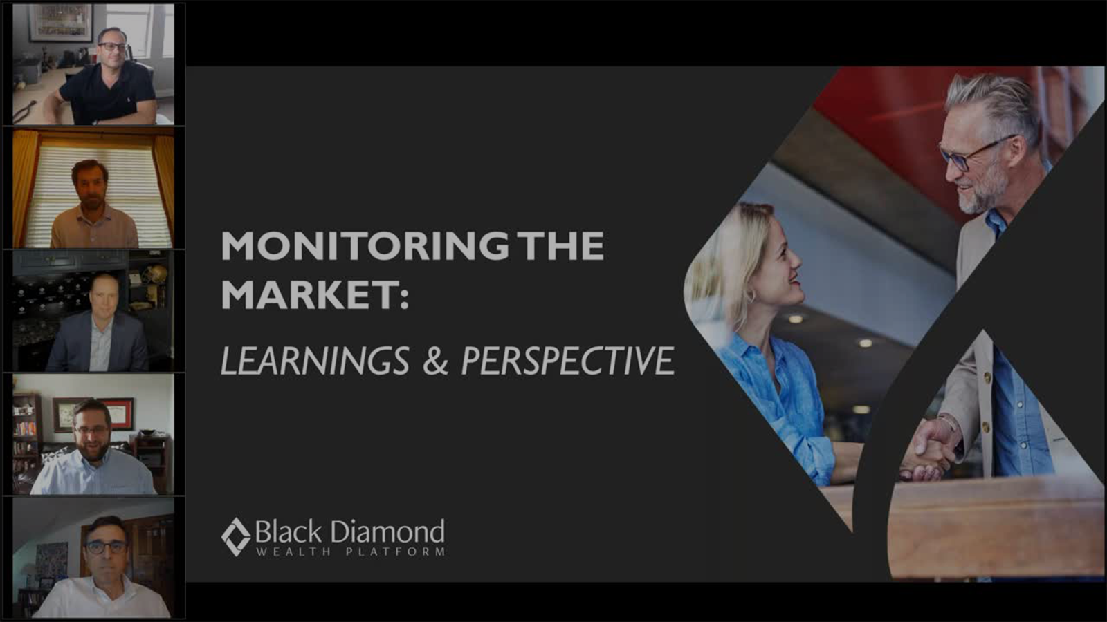 poster image for Monitoring the Market: Learnings and Perspectives