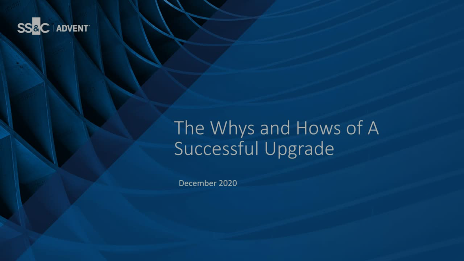 poster image for The Whys and Hows of a Successful Upgrade