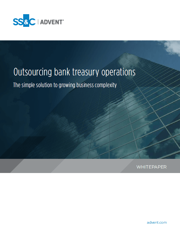 poster image for Outsourcing bank treasury operations