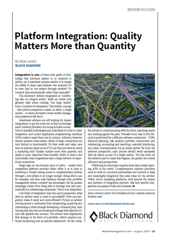 poster image for <p>Platform Integration: Quality Matters More than Quantity</p>
