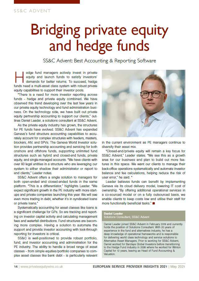 poster image for <p>Bridging Private Equity and Hedge Funds</p>