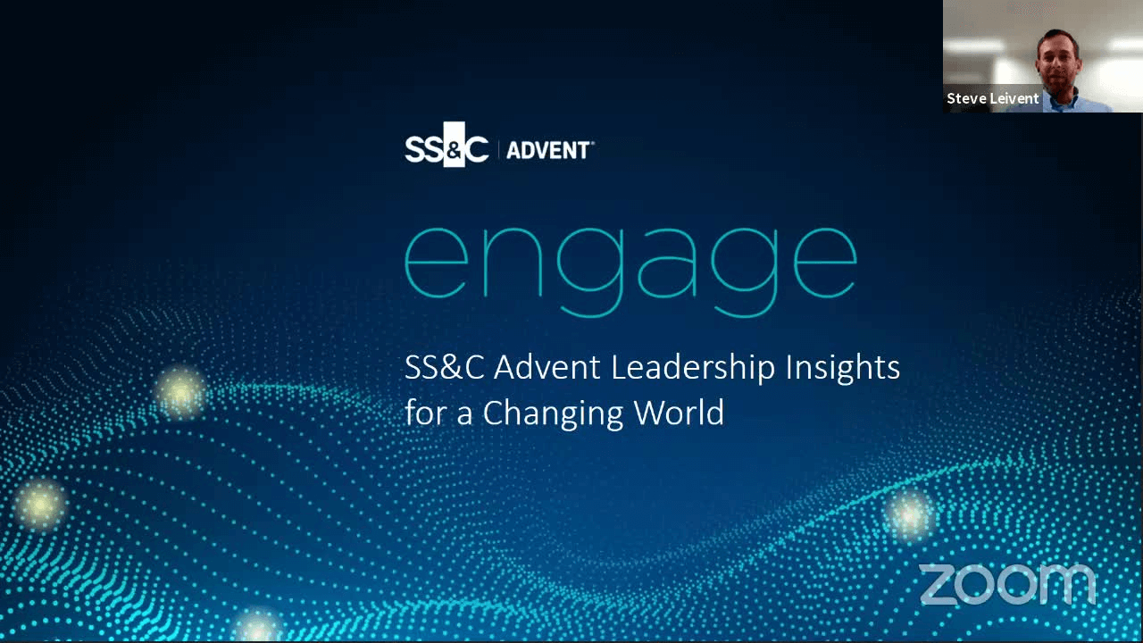 poster image for SS&C Advent Leadership Insights for a Changing World