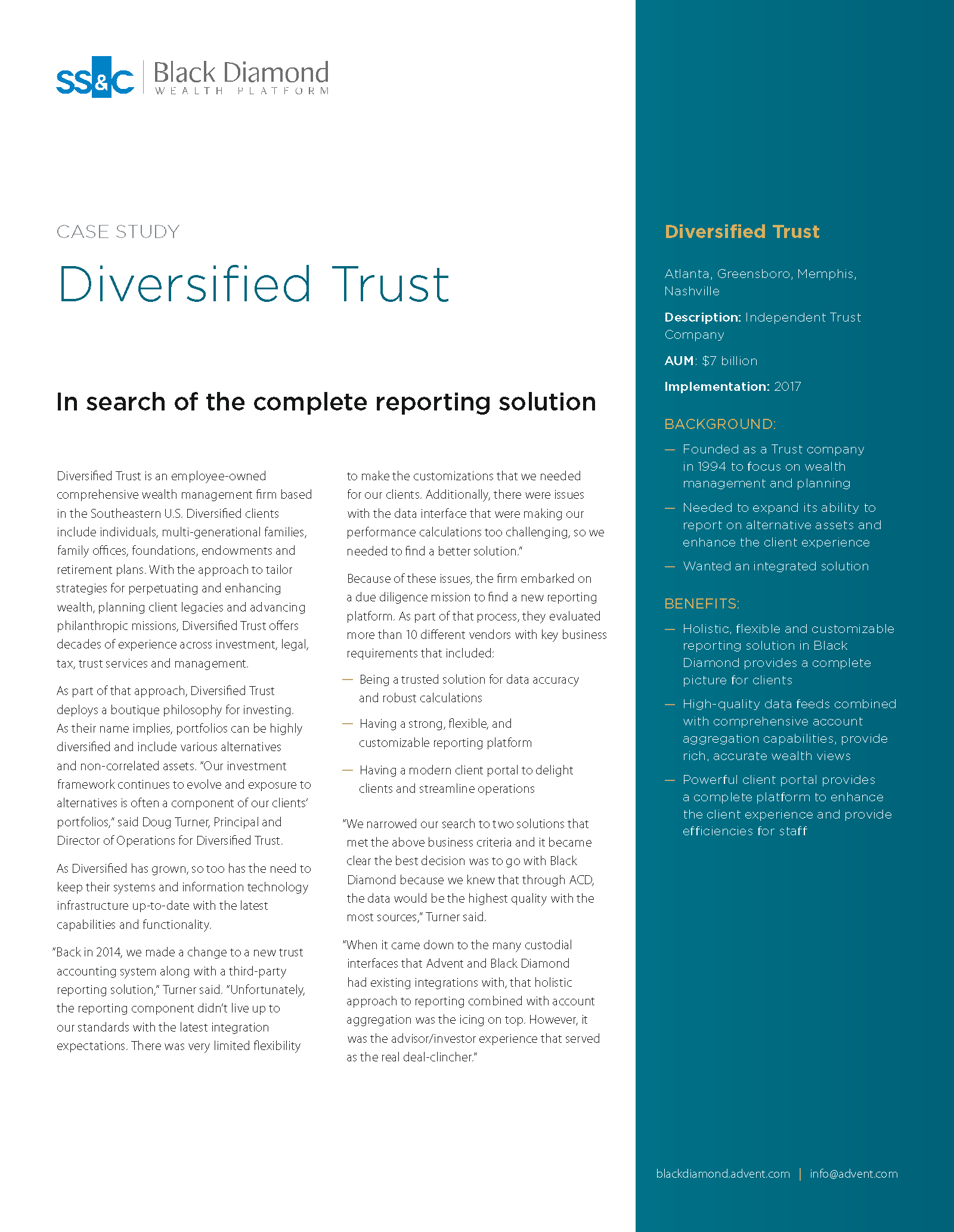 poster image for <p>Diversified Trust</p>