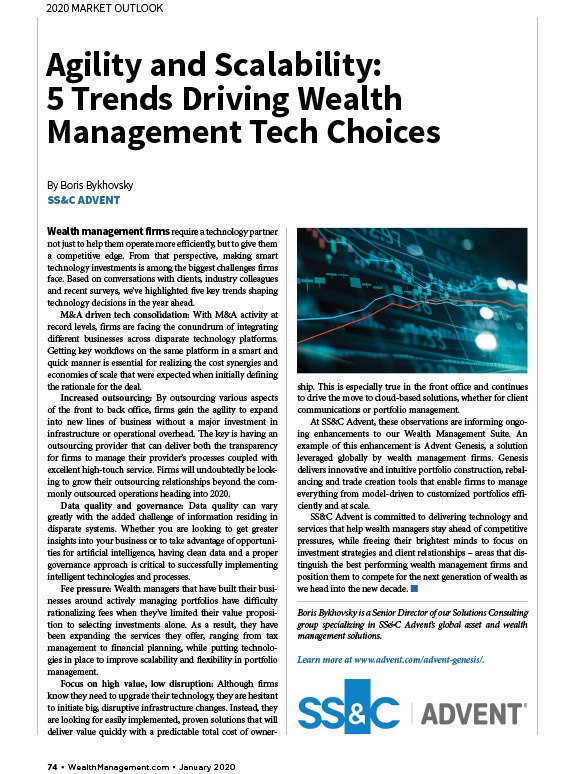 poster image for <p>Agility and Scalability: 5 Trends Driving Wealth Management Tech Choices</p>