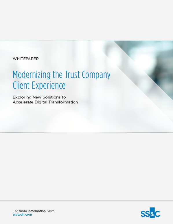 poster image for Modernizing the Trust Company Client Experience