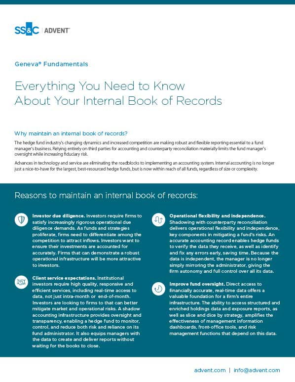 poster image for <p>Everything You Need to Know About Your Internal Book of Records</p>