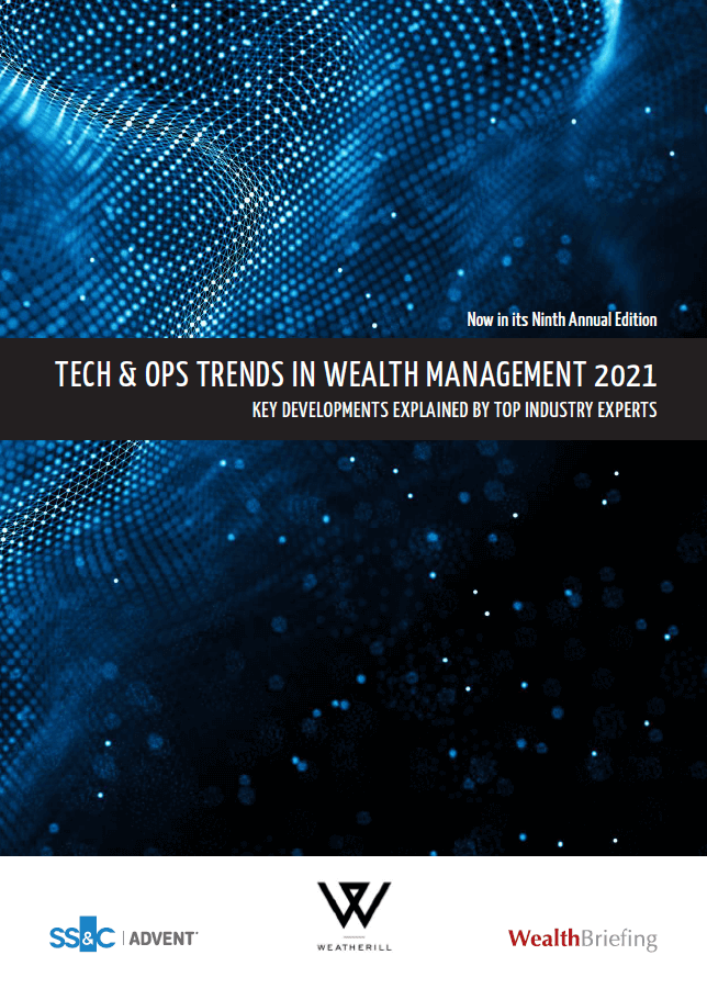 poster image for Technology & Operations Trends in Wealth Management 2021