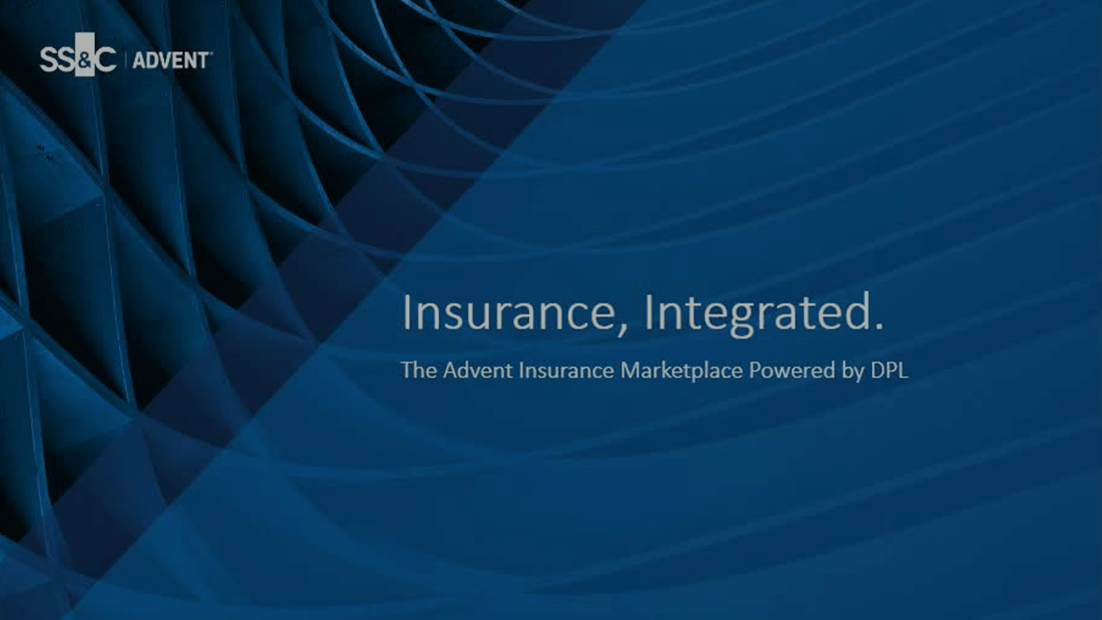 poster image for Insurance, Integrated