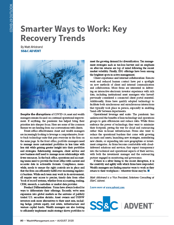 poster image for <p>Smarter Ways to Work: Key Recovery Trends</p>