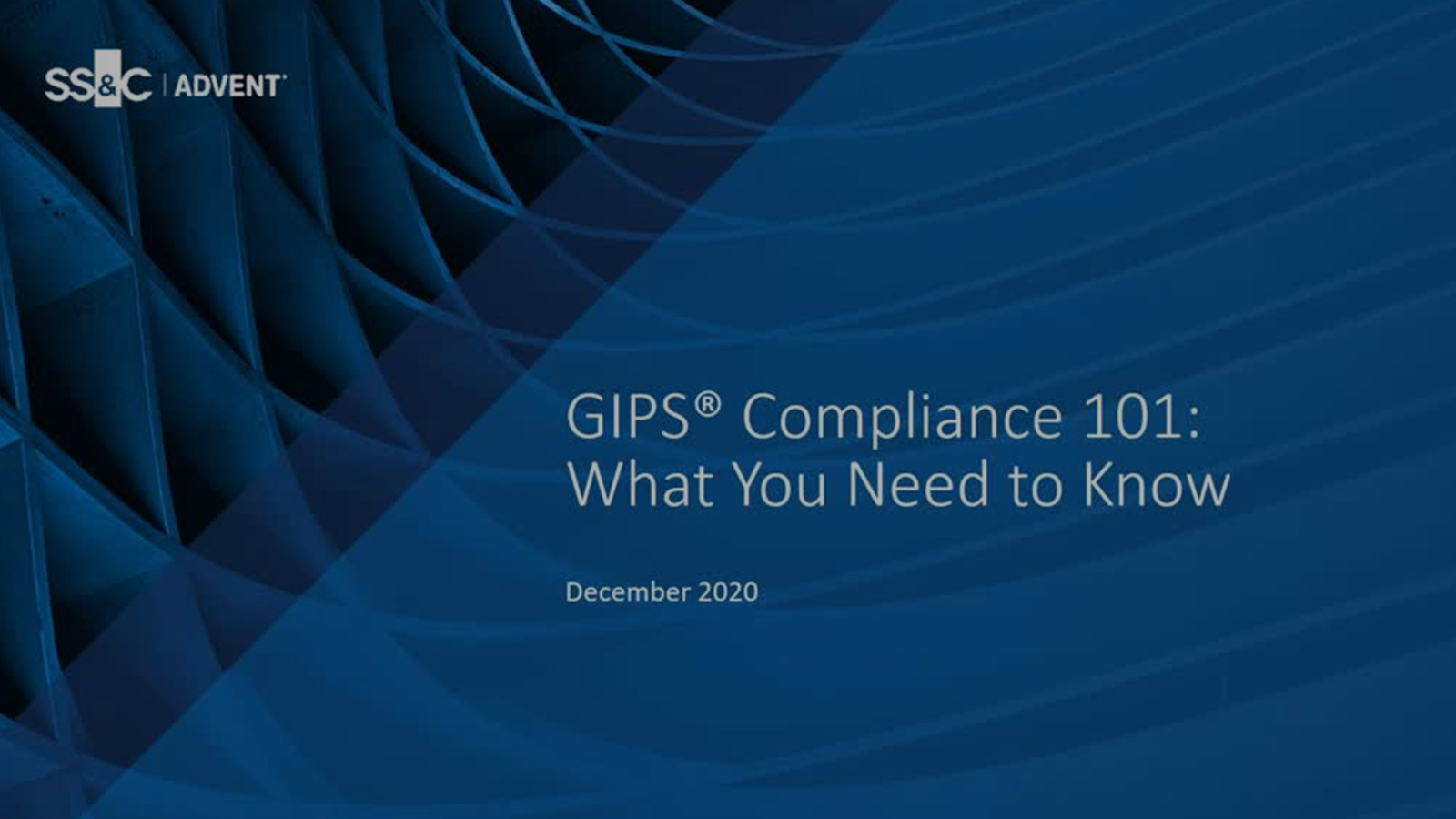 poster image for GIPS® Compliance 101: What You Need to Know