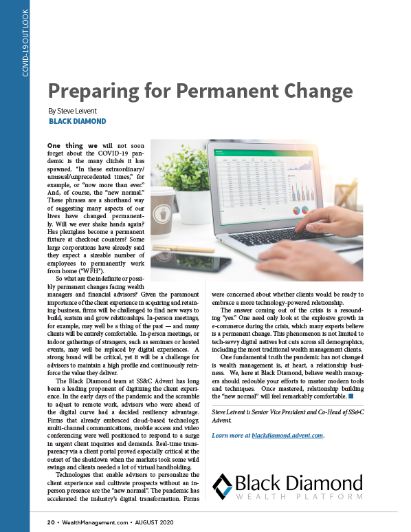poster image for <p>Preparing for Permanent Change</p>