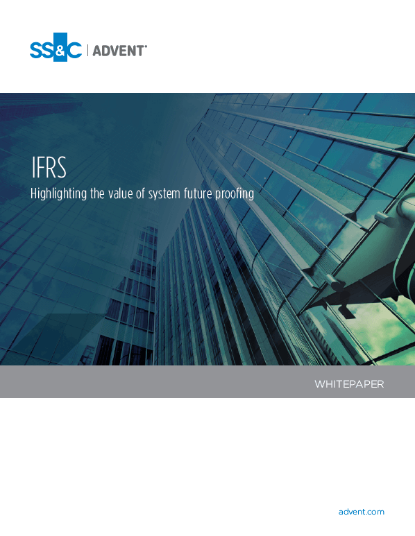 poster image for IFRS: Highlighting the value of system future proofing