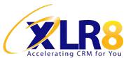 XLR8 company logo