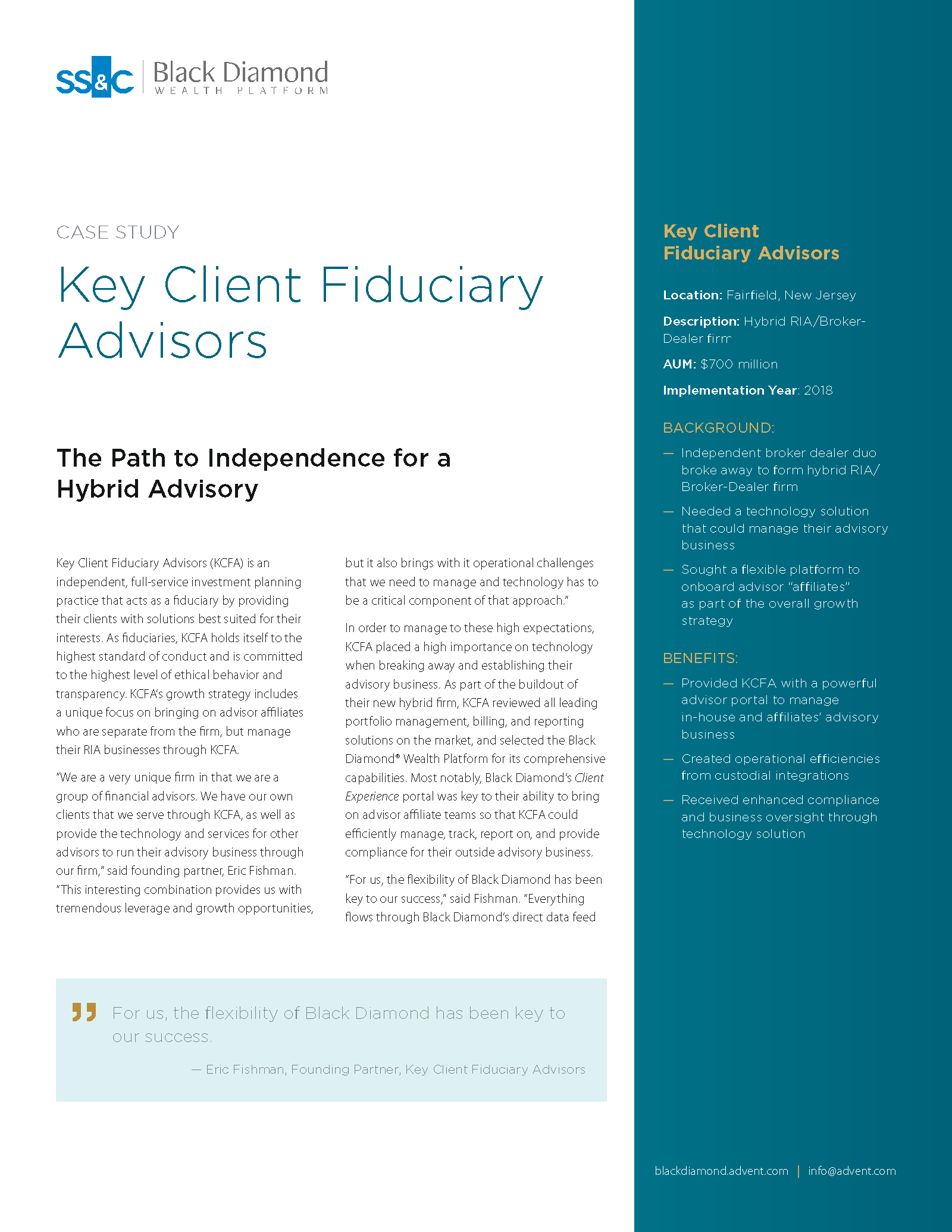 poster image for <p>Key Client Fiduciary Advisors</p>