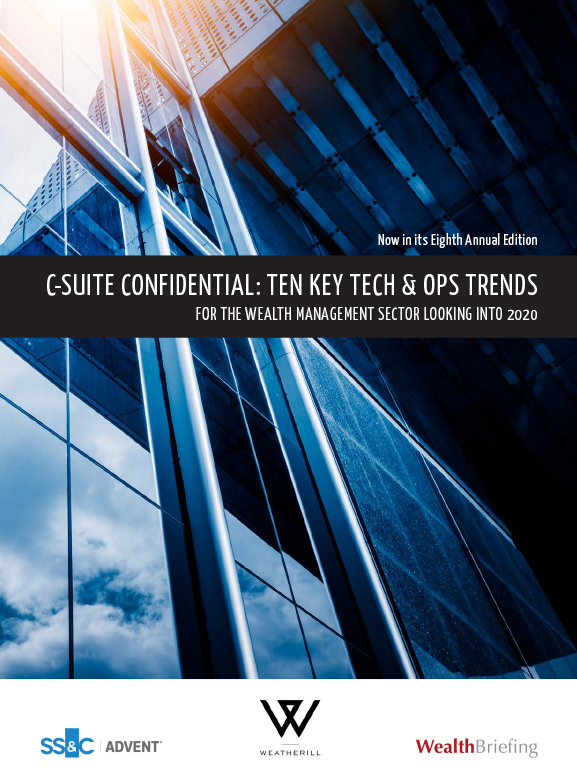 poster image for C-suite confidential: Ten key tech & ops trends