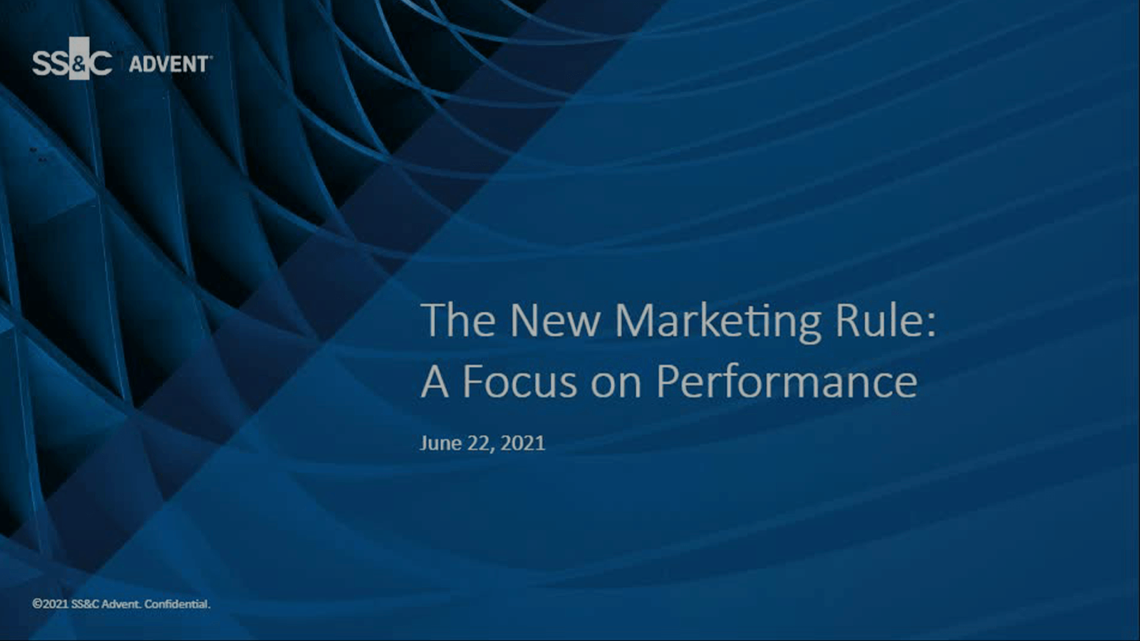 poster image for The New Marketing Rule: A Focus on Performance
