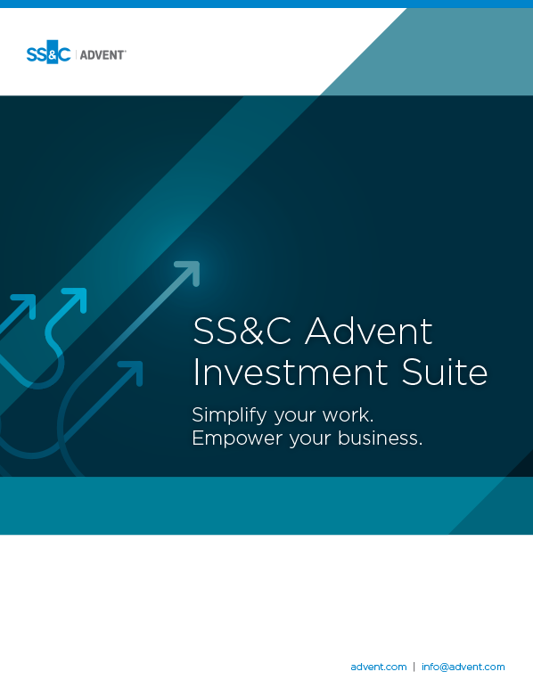 poster image for <p>SS&C Advent Investment Suite Overview</p>
