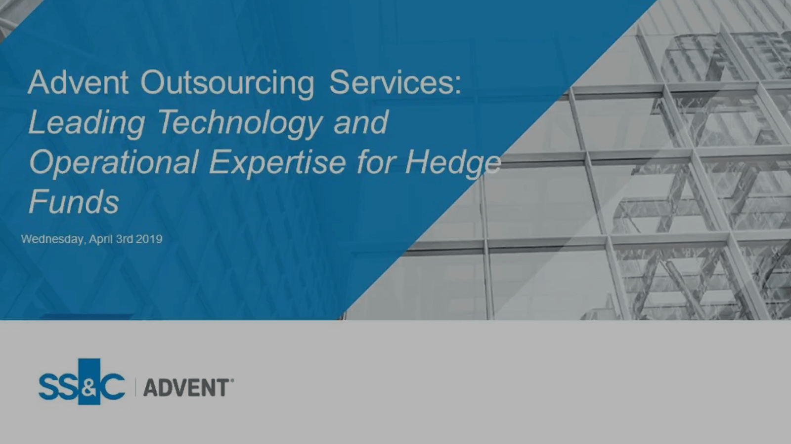 poster image for Advent Outsourcing Services