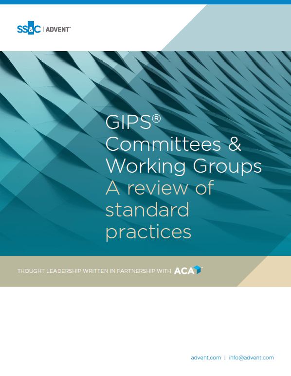 poster image for GIPS® Committees & Working Groups