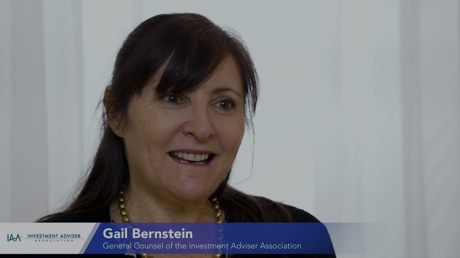 poster image for <p>Industry Insight: Gail Bernstein from Investment Advisor Association</p>