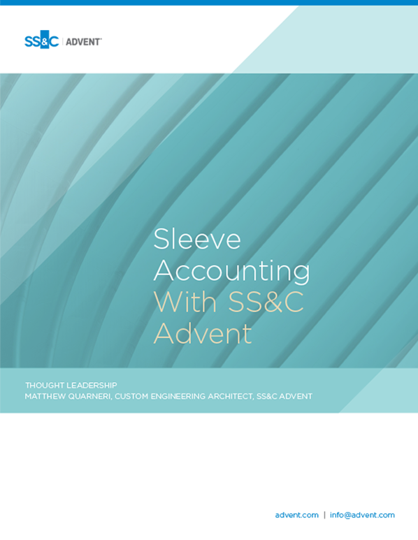poster image for <p>Sleeve Accounting With SS&C Advent</p>
