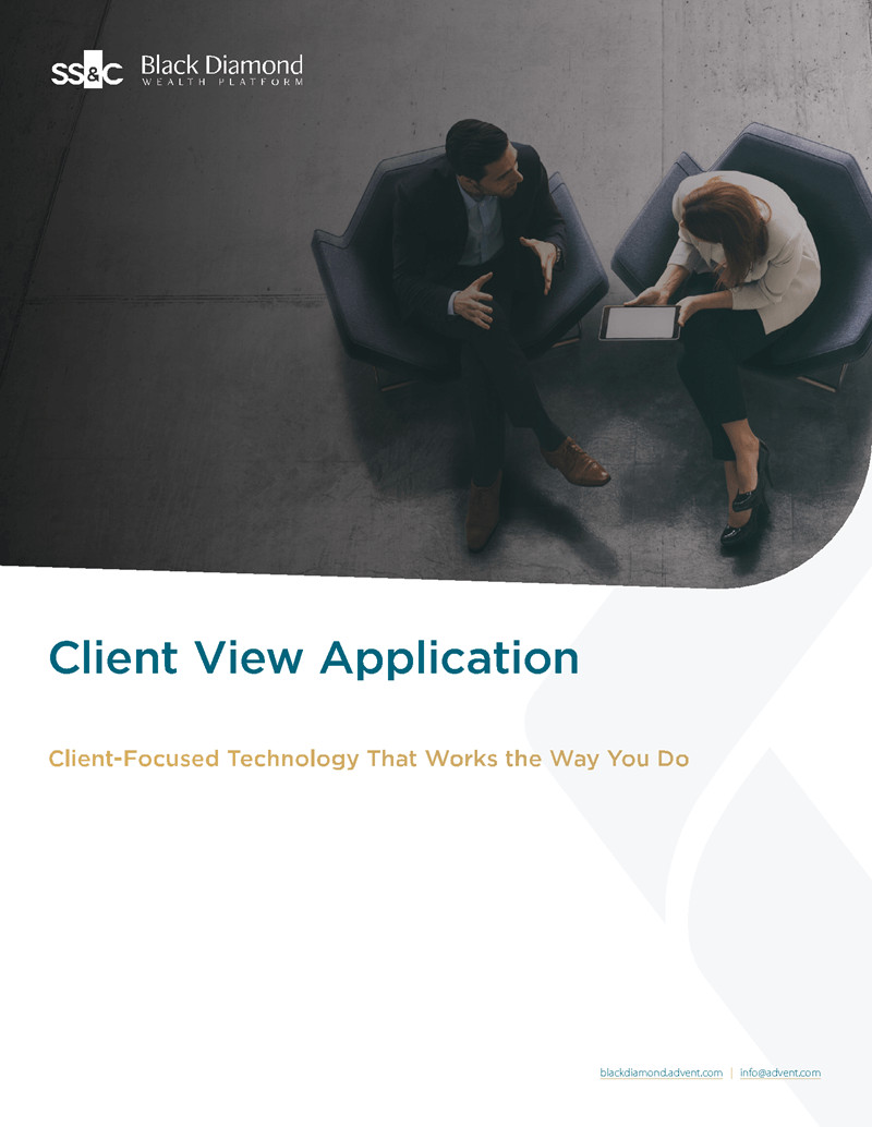 Client View Product Brief