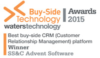 Buy-Side Technology Awards CRM 2015