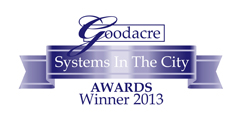Goodacre's Systems in the City Awards 2013