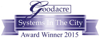 Goodacre's Systems in the City Awards 2015
