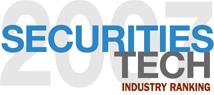 2007 Securities Tech Industry Award